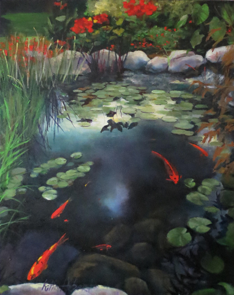 Koi pond for Koi pool for sale